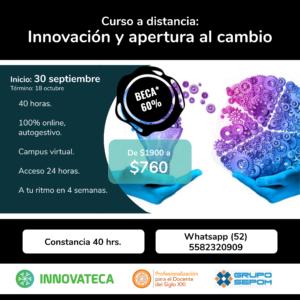 Innovateca Curso InnACambioSEP20