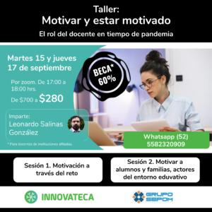 Taller Innovateca 15y17sep20
