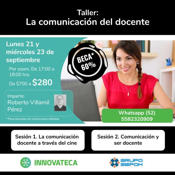 Taller Innovateca 21y23sep Comunicación