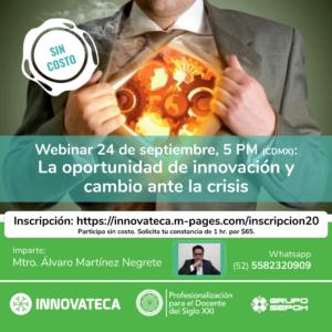 Webinar Innovateca 24sep20