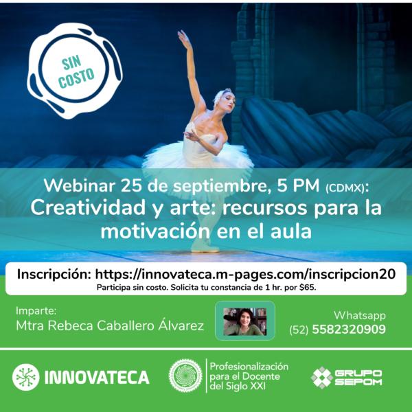 Webinar Innovateca 25sep20