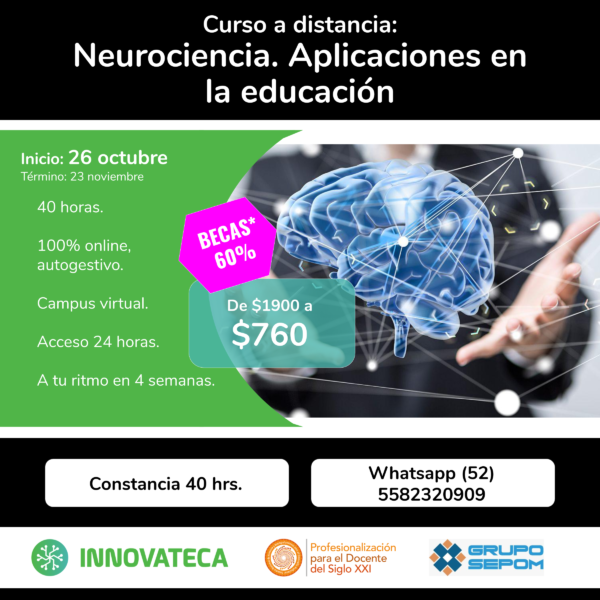 Curso Innovateca. Neurociencia. Oct 20.