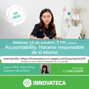 Webinar Innovaetca. Accountability. Oct 20.