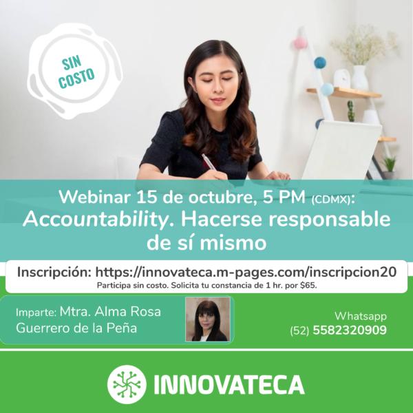 Webinar Innovaetca. Accountability. Oct 20.