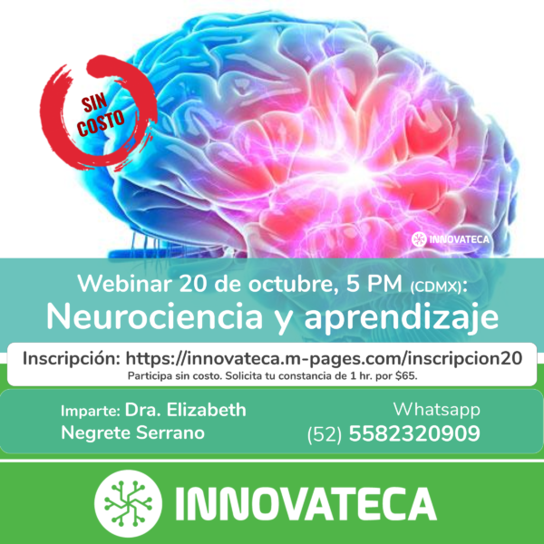 Webinar Neurociencia Innovateca 20oct20