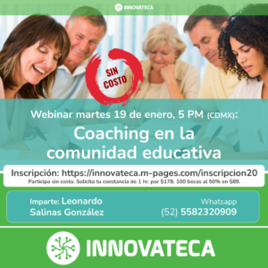 Webinar Innovateca 19ene21. Coaching Educativo