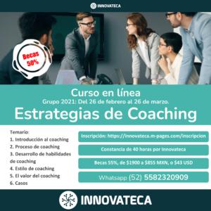 Curso Innovateca: Estrategias de Coaching