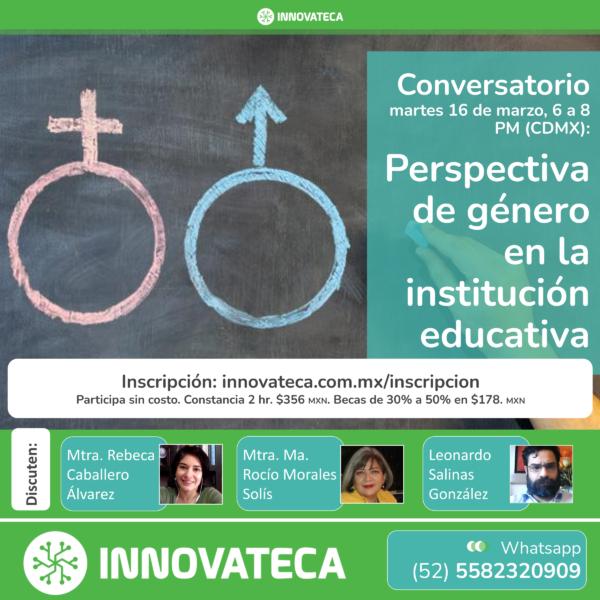Conversatorio Innovateca. Marzo 2021