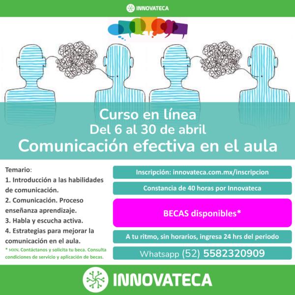 Curso Innovateca. Comunicación efectiva.