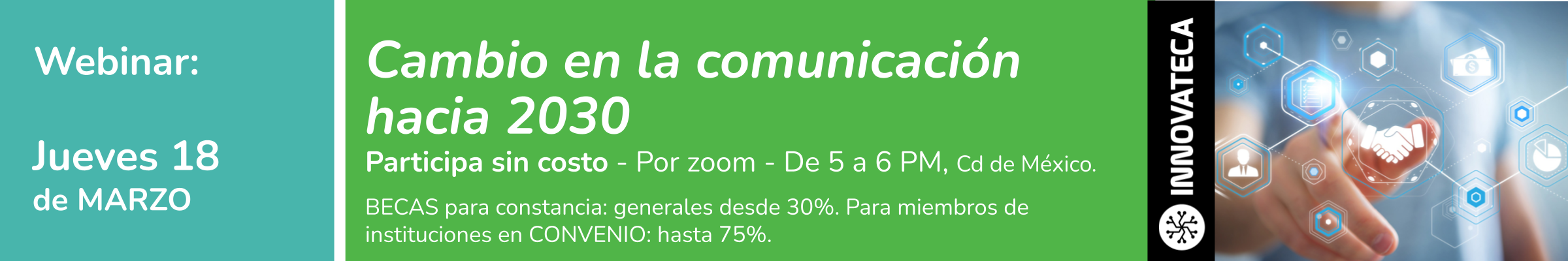 Webinar Innovateca 18mar21
