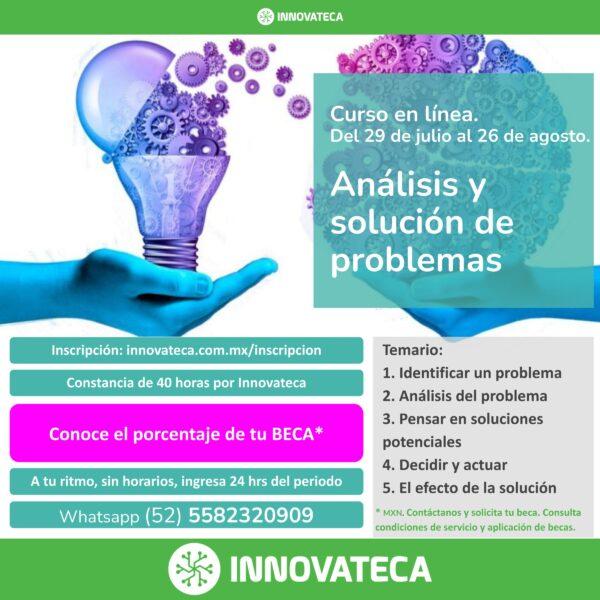 Curso Innovateca Solución Problemas 2021