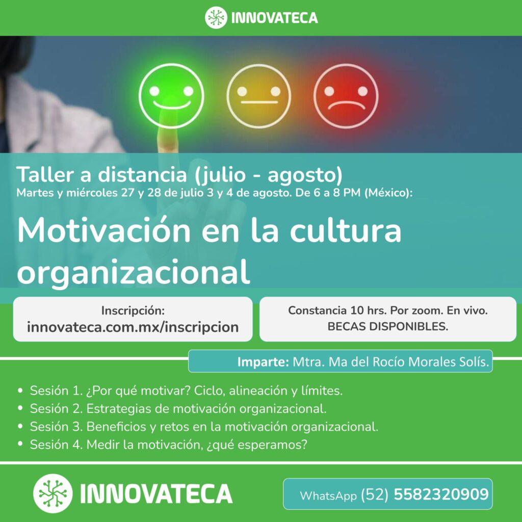 Taller Innovateca Motivación organizacional 2021