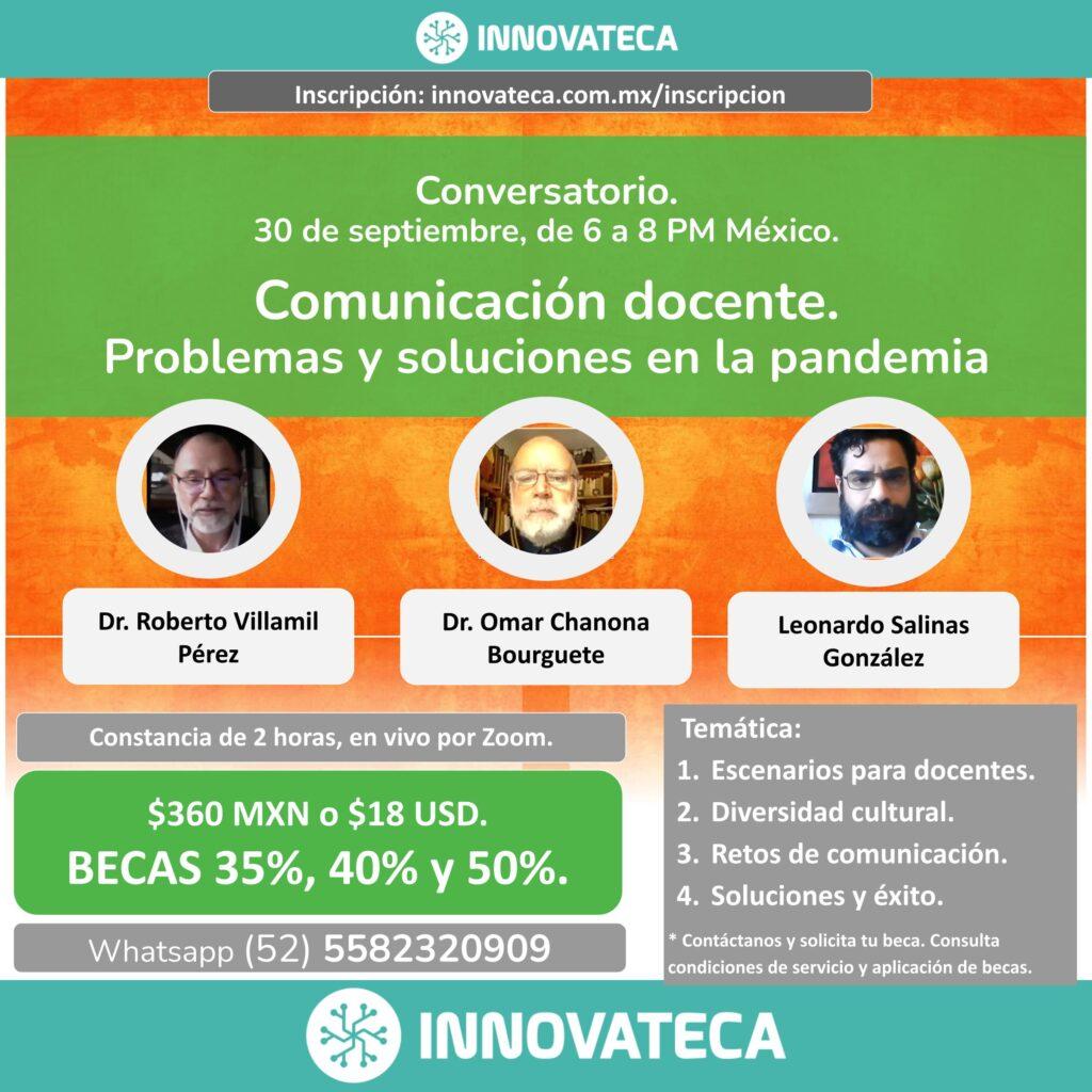 Seminario Innovateca. Comunicación docente